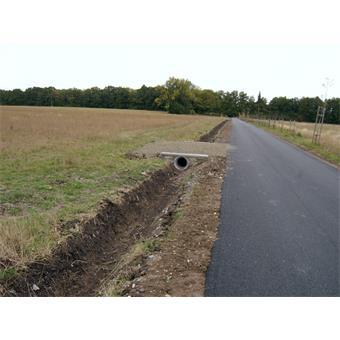 Rekonstrukce odvodnění silničního tělesa polní cesty v k.ú. Plástovice
