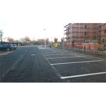 Parkovací plochy na pozemku parc.č. 466, Dukelská ulice, Třeboň