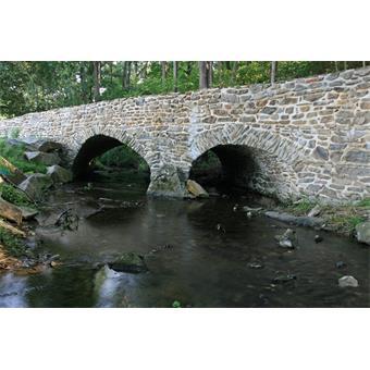 Polní cesta v kú Ratiborova Lhota - oprava mostku