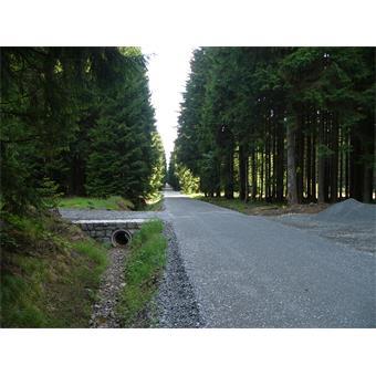 Oprava lesní cesty K Červené boudě
