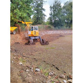 Rekonstrukce opevnění hrází rybníků Jordán a Říční a rekonstrukce výpustí, loviště a kádiště rybníku Říční