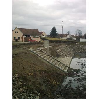Rekonstrukce vodní nádrže Stříbřec