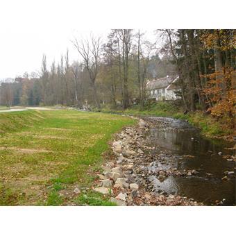 Protipovodňová opatření Strunkovice nad Blanicí